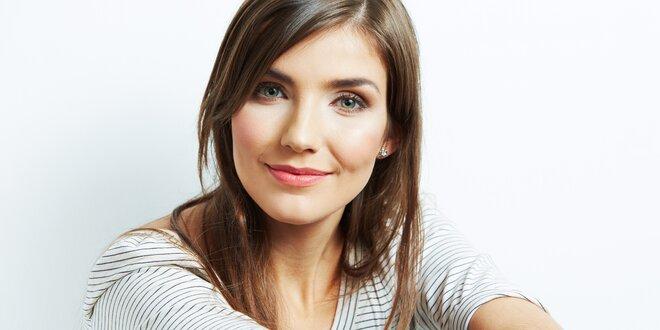 70minutové kosmetické ošetření pleti