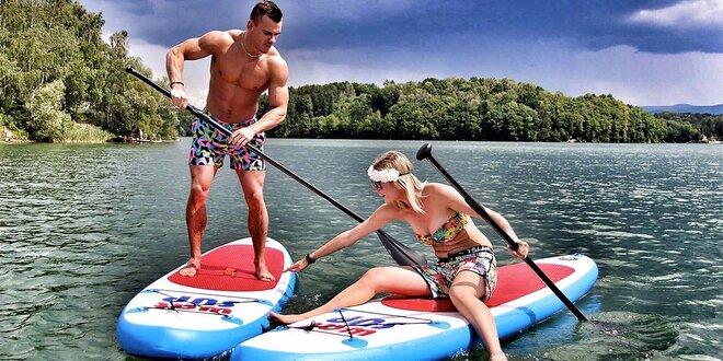 1 hod. zapůjčení paddleboardu v centru Ostravy