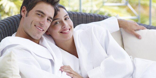 Romantika ve dvou: relaxační koupel a pivo