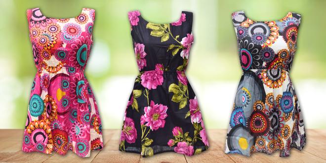 Veselé bavlněné šaty