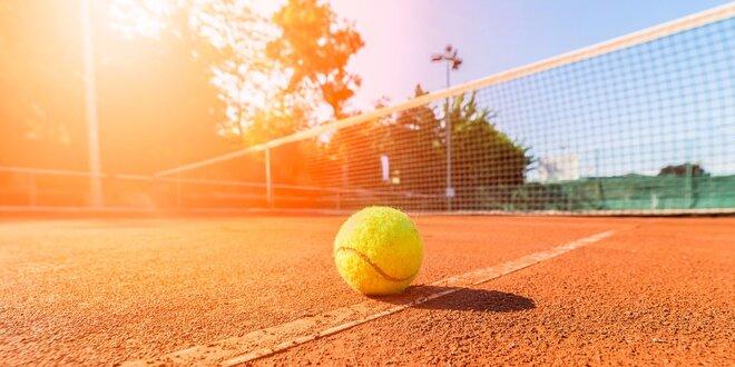 Prázdninový vstup na tenisový kurt v Kralupech