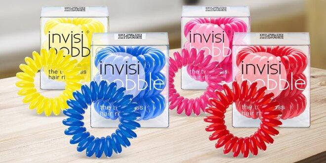 3 ks revolučních gumiček Invisibobble do vlasů