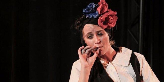 """Vstupenka na divadelní představení """"Frida K."""""""