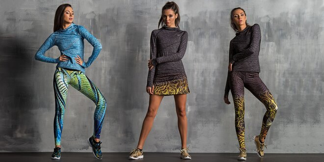 Funkční oblečení Nessi na běh a jiné sporty