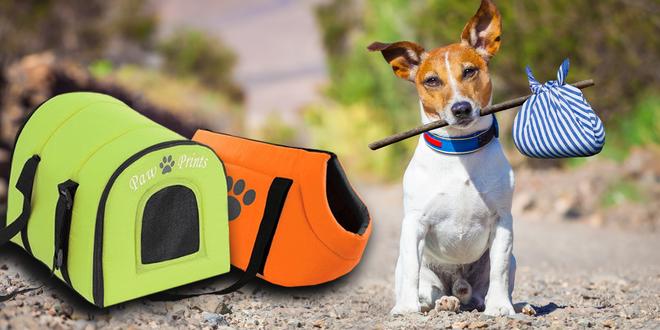 Cestovní tašky a boxy pro psy menších plemen