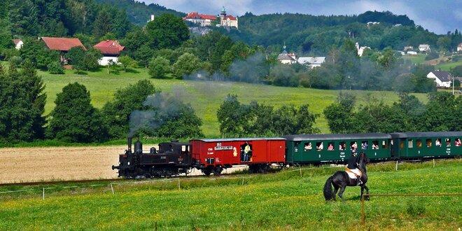 Celodenní výlet parním vláčkem v Českém ráji