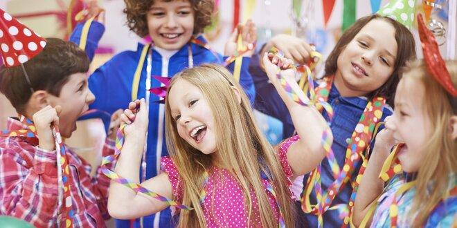 Dětská oslava v laser aréně Teben