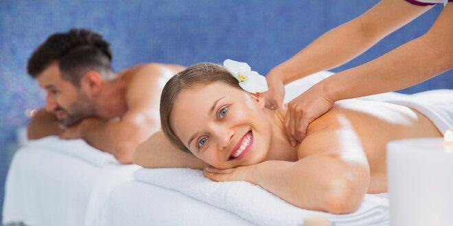 Wellness podzimní relax ve Františkových Lázních vč. masáže, zábalu a polopenze