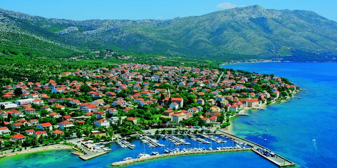 Dovolená v Chorvatsku: ubytování 100 m od pláže
