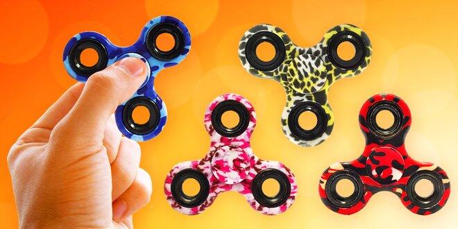 Zatočte se stresem: Barevný fidget spinner