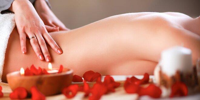 90minutová tantrická masáž až pro 2 osoby