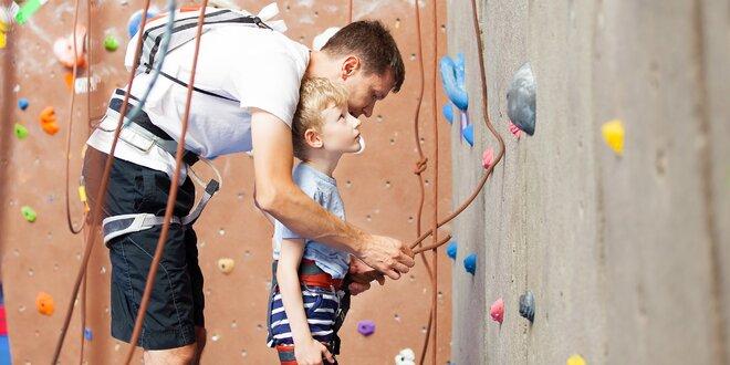Celodenní lezení na boulderu pro rodinu