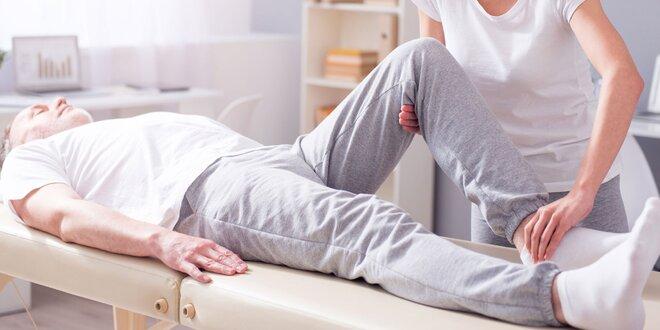Konzultace s fyzioterapeutem a následná terapie