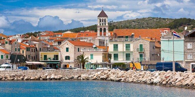 8denní pobyt v chorvatských apartmánech Jasna