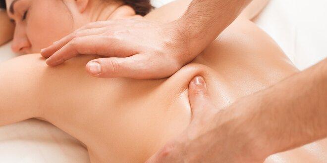 Profesionální masáž v luxusním salonu dle výběru
