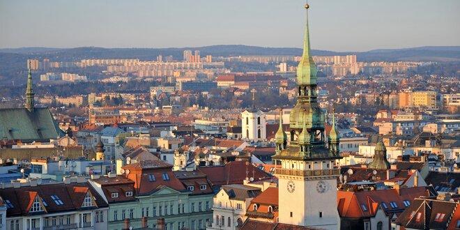 Prohlídka historického centra s vyhlídkou na Špilberk