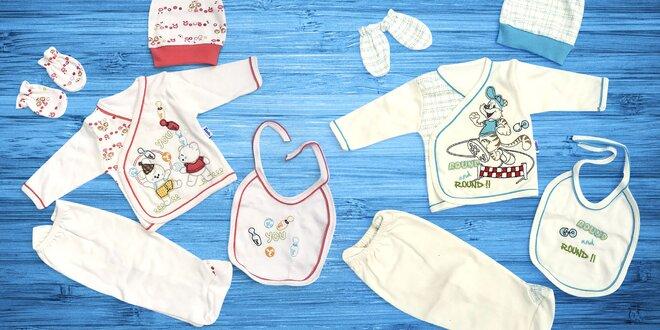 5dílné sety pro miminka