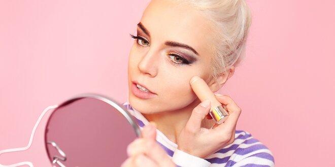 120minutová škola make-upu s ukázkami