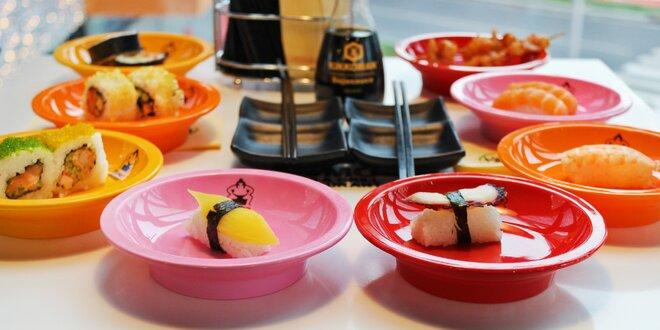 Running sushi: neomezený lov asijských dobrot