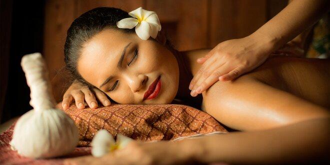 Dopolední či odpolední partnerská thajská masáž