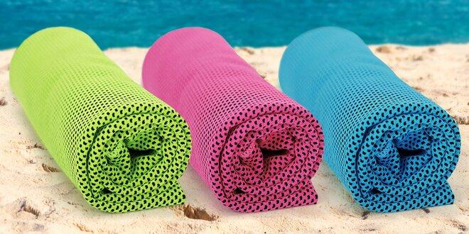 Chladicí ručník k vodě i na sport