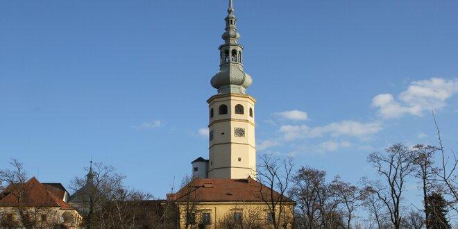 Vstupné na romantický zámek Tovačov