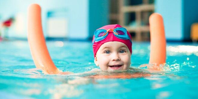 Intenzivní letní kurz plavání pro děti