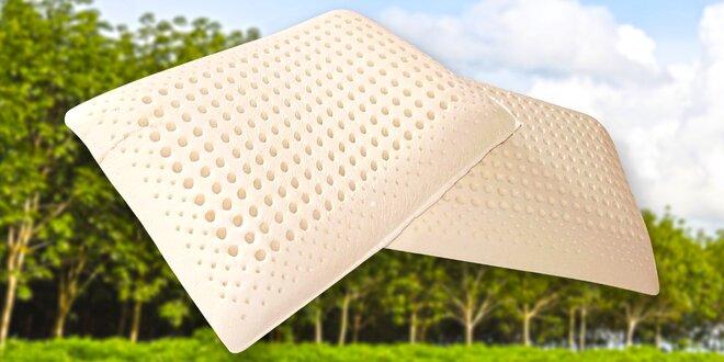 Polštář z přírodního latexu 60×40×15,5 cm