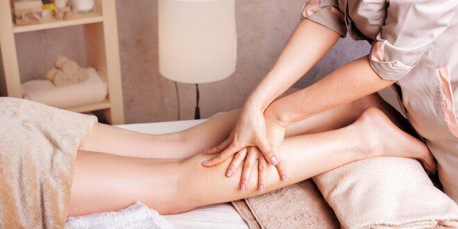 Manuální lymfatická masáž s ozonem