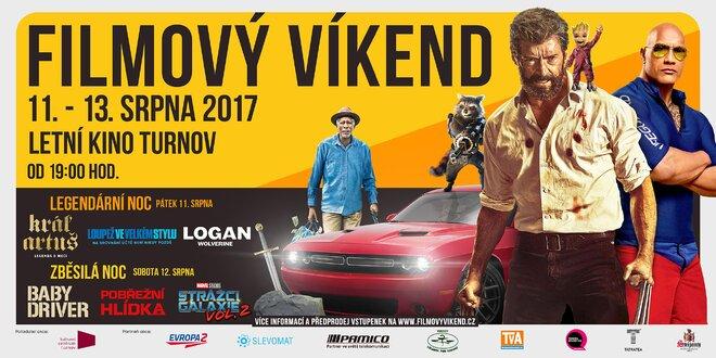 Filmový víkend v letním kině v Českém ráji