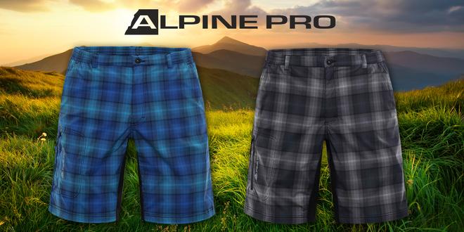 Pánské softshellové šortky Alpine Pro