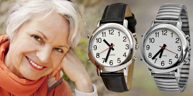 Náramkové hodinky Gtup s funkcí hlášení času