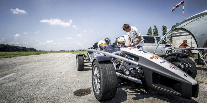 Jízda v nejrychlejším vozu světa: Ariel Atom 3.5