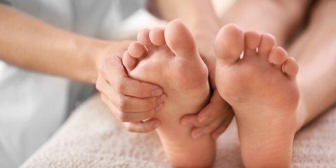 40minutová reflexní terapie plosky nohy a lýtek