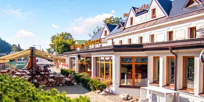 3–5 báječných dní s polopenzí v Krkonoších v hotelu s vlastním minipivovarem