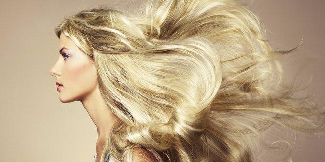 Keratinová kúra vlasů + mytí, foukaná a styling