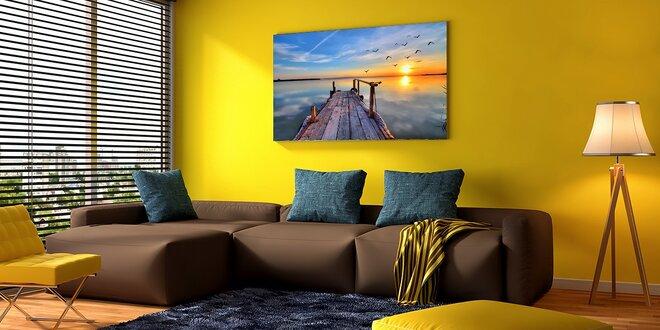 Fotoobraz na bavlněném plátně s dřevěným rámem