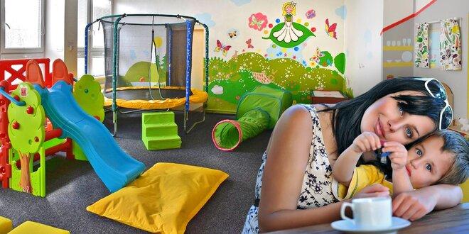 Návštěva herničky pro děti vč. nápojů