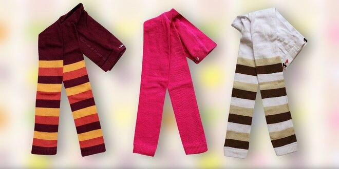 Dětské legínky, nadkolenky a ponožky