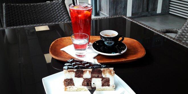 Káva, dort a domácí limonáda na trhu Stromovka
