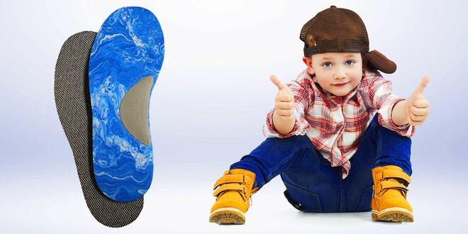Dětské stélky do bot proti zápachu
