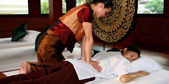 Hýčkání pro náročné: 110 minut relaxu vč. masáže