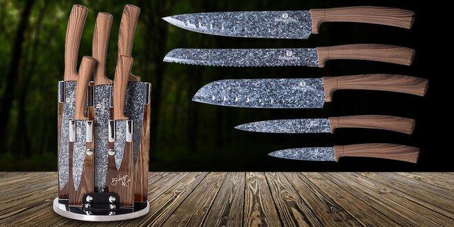 Sada 5 nožů v otočném stojánku z řady Forrest Line