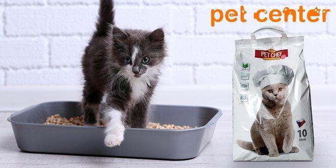 Ekologické stelivo Pet Chef pro domácí mazlíčky