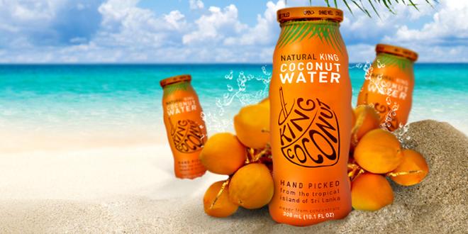 Osvěžující a zdravá kokosová voda KING COCONUT