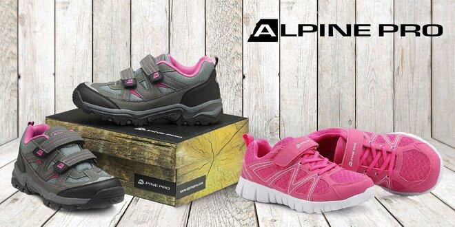 Boty Alpine Pro na suchý zip pro malé výletníky