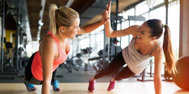 1 trénink nebo měsíc cvičení ve fitku pro ženy