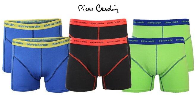 2 ks boxerek Pierre Cardin ve stylových barvách