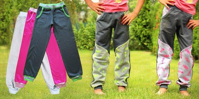 Parádní dětské tepláky GUDO na ven i na doma