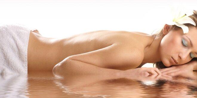 90 minut relaxu: Masáž zad a plosek nohou